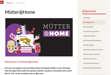 May 22 2020: Mütter @ Home is released