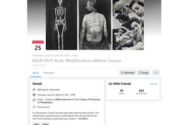 June 25 2020: Body Modifications Mütter Lesson (Virtual Event)