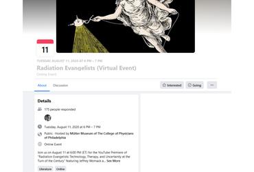 August 11 2020: Radiation Evangelists (Virtual Event)