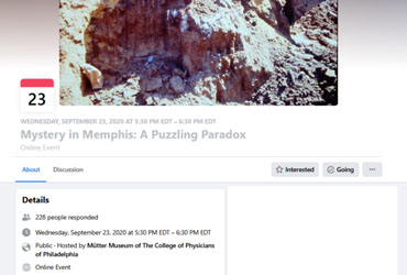 September 23 2020: Mystery in Memphis: A Puzzling Paradox