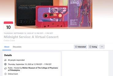 September 10 2020: Midnight Service: A Virtual Concert