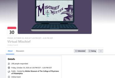 October 30 2020: Virtual Mischief