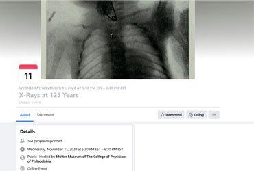November 11 2020: X-Rays at 125 Years
